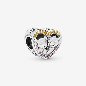 Pandora Disney The Lion King Simba and Nala Charm
